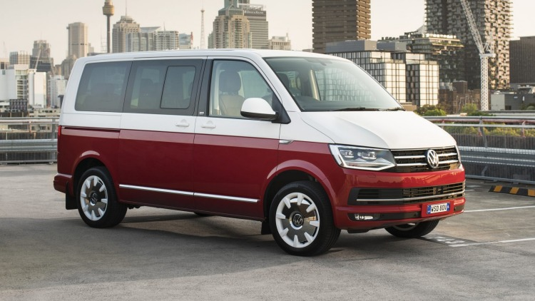 Volkswagen Multivan can be optioned to look like a Kombi.