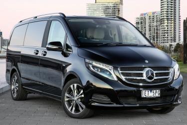 Mercedes-Benz V250d v Volkswagen Multivan Executive head-to-head comparison