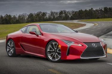 Lexus reveals new LC 500 V8 coupe