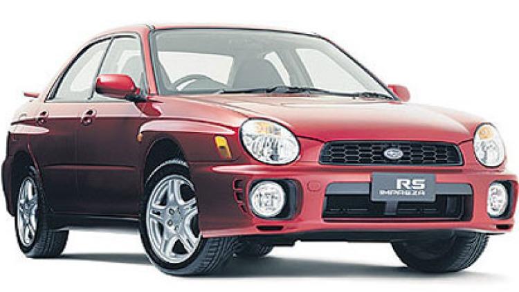 Subaru Impreza RS.