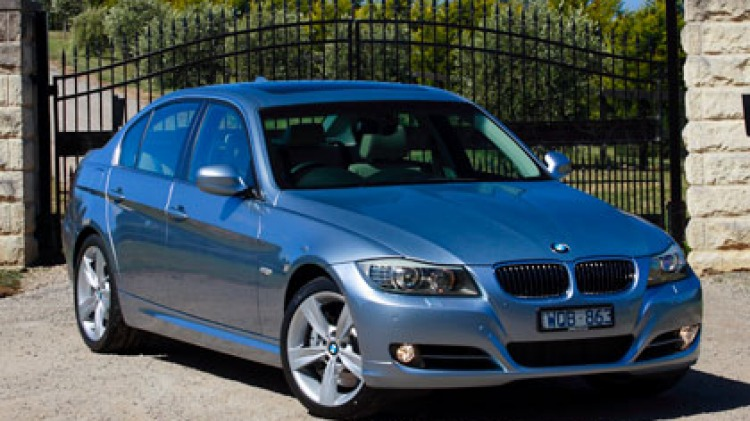 Entry-level luxe . . . BMW's 3-Series models start at under $60,000.