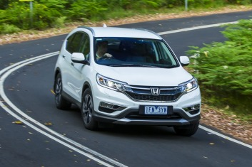 Mid-size SUV comparison: Honda CR-V