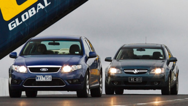 Holden fuel tests    Picture: MARK BEAN