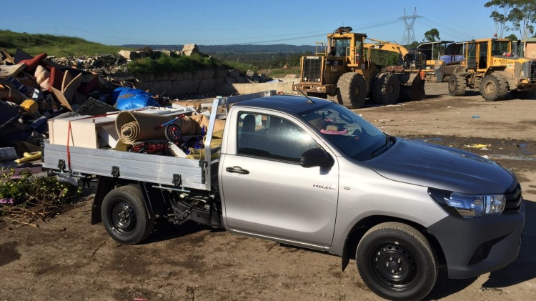 Toyota HiLux SingleCab Workmate 4x2.