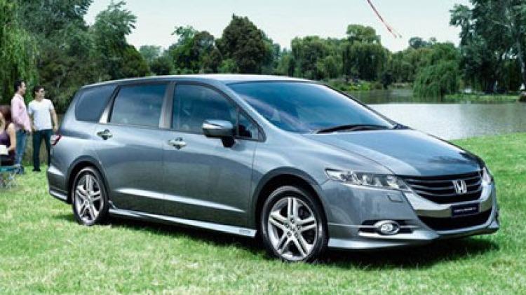2009 Honda Odyssey.
