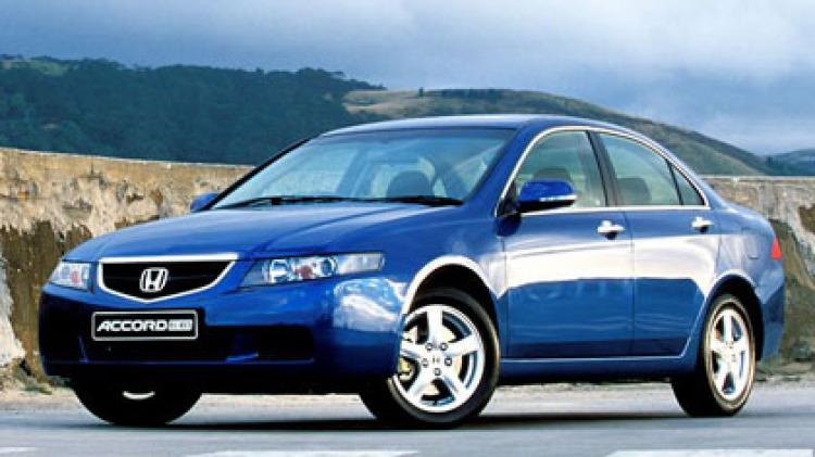 Honda Accord Euro.
