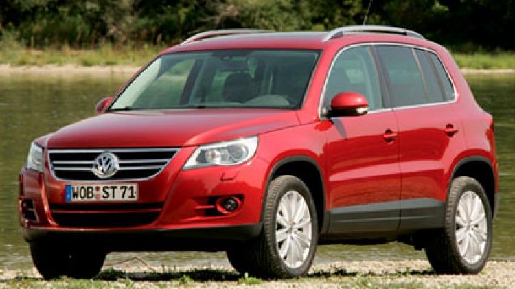 Volkswagen Tiguan.