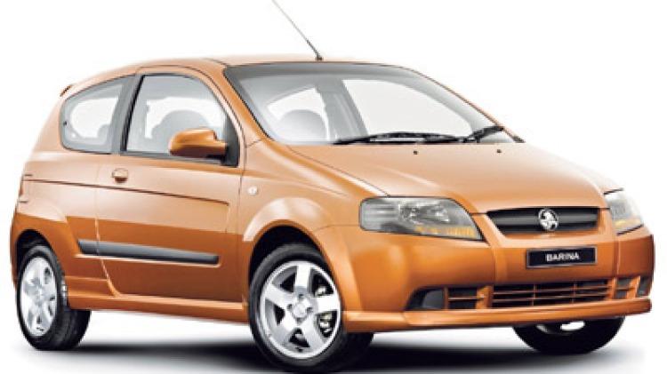 Holden Barina Three Door