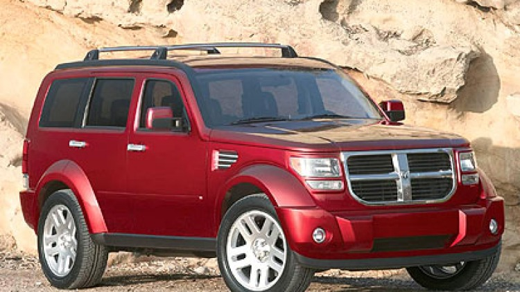 It ain't pretty, but the Dodge Nitro is all about road presence.