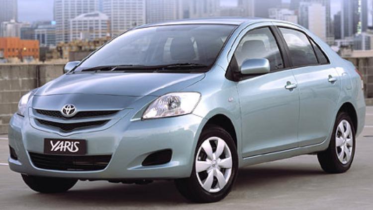 Toyota Yaris Sedan