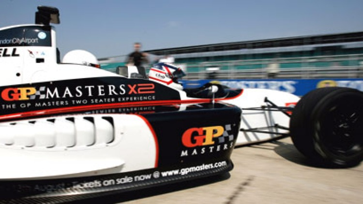 Nigel Mansell testing for the Grand Prix Masters series at Silverstone, UK, July 25, 2006. Picture: Getty images.