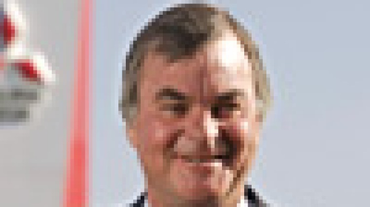 Mitsubishi boss Rob McEniry