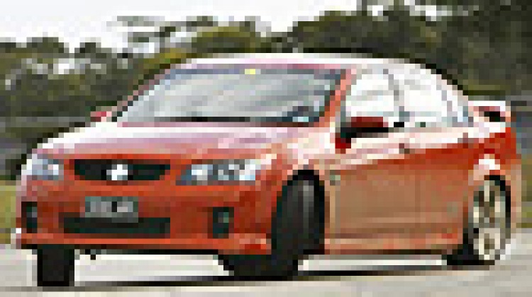 Holden Commodore: stability control demonstration
