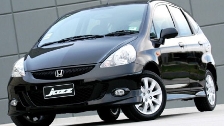 Honda's Jazz a favourite with theives according to the NRMA