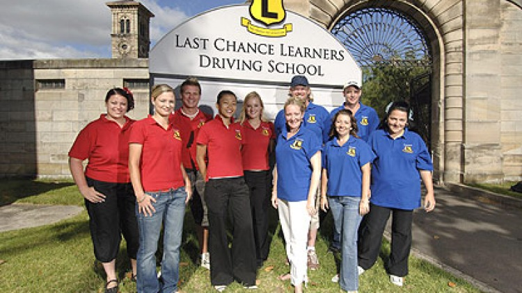 Auto challenged ... contestants on Last Chance Learners.
