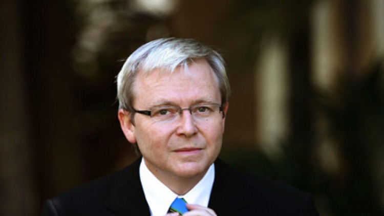 Opposition Leader Kevin Rudd