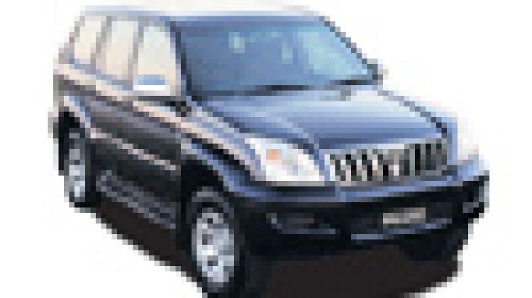 Toyota LandCruiser Prado Grande turbo-diesel