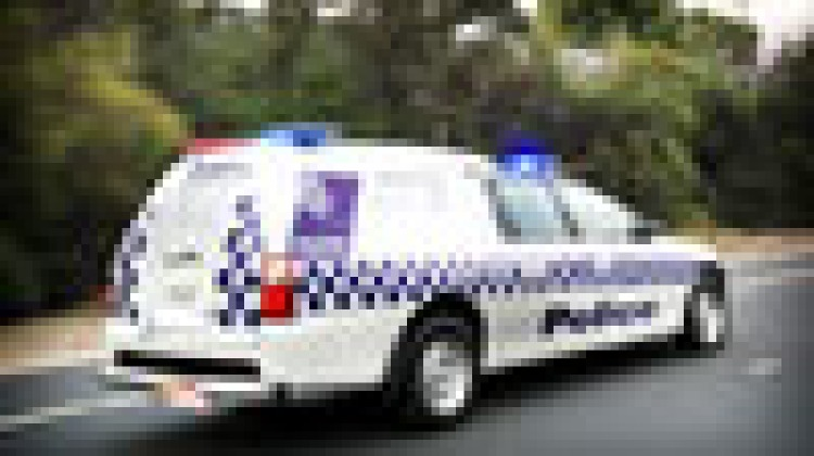 Unmanned police cars used to scare crooks