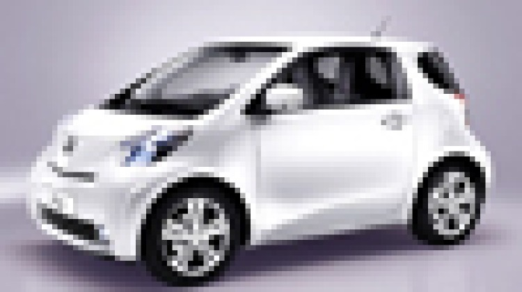 Toyota iQ: the world's smallest four-seater