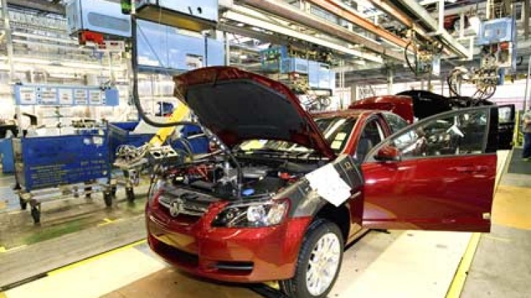 GM Holden's manufacturing facilities in SA