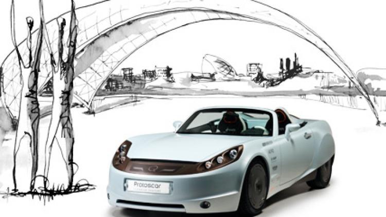 Lean, mean, green...Protoscar's Lampo electric sports car