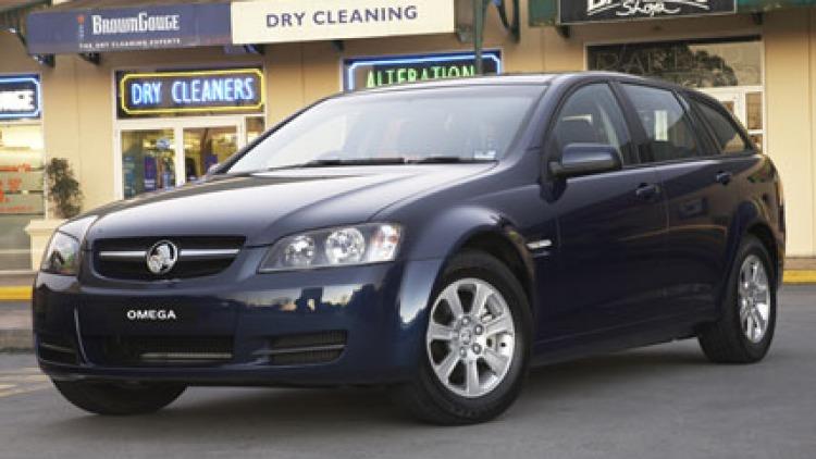 2008 Holden Omega Sportwagon