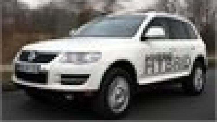 First drive: VW Touareg Hybrid