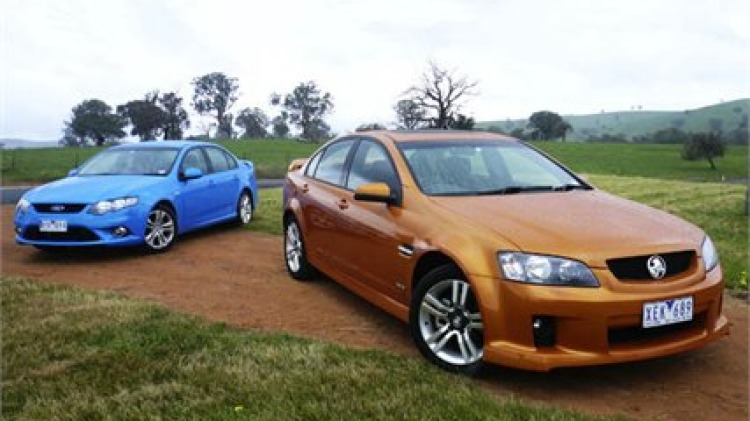 Ford and Holden's definition of the essential Aussie sports sedan