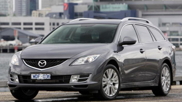 2008 Mazda6 wagon.