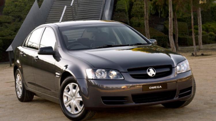 2006 Holden VE Omega.