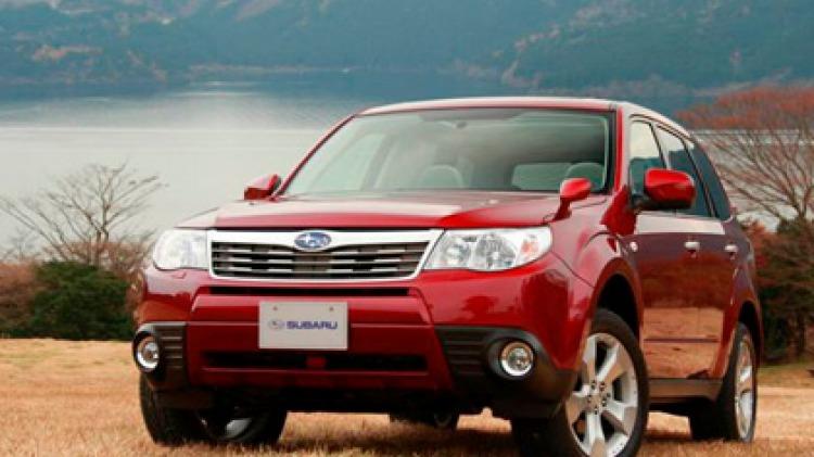 2008 Subaru Forester.