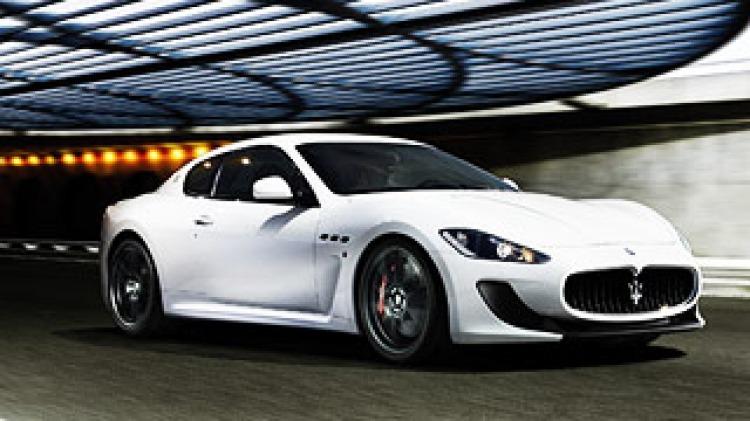 The MC Stradale version of Maserati GranTurismo.