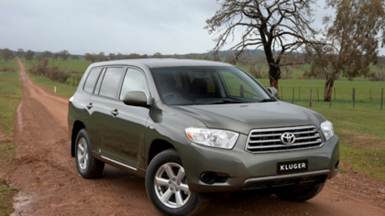 The Toyota Kluger is a great all-rounder but its superior economy is what makes it a standout.