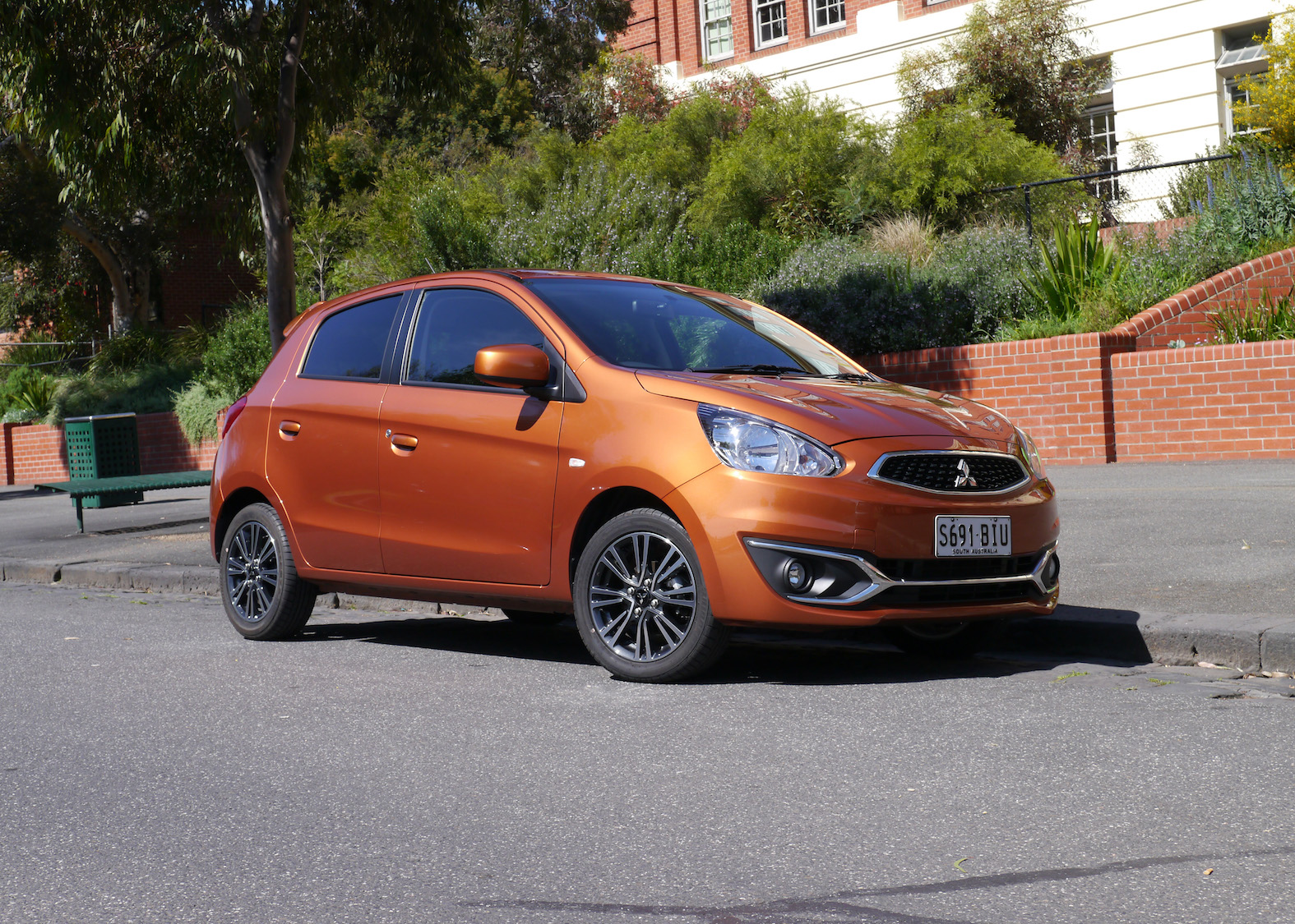 Mitsubishi Mirage LS REVIEW | CVT Hatch - New Wheels, More Gear, And A Better Drive