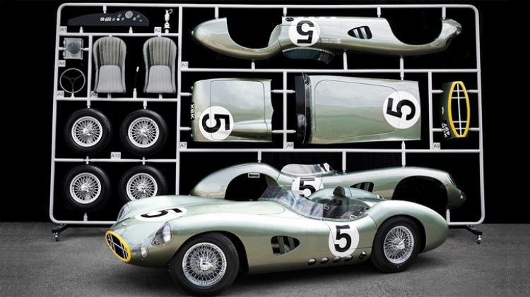 Aston Martin DBR1 kit: A full-sized homage to the car and drivers that won the 1959 Le Mans 24 hours.