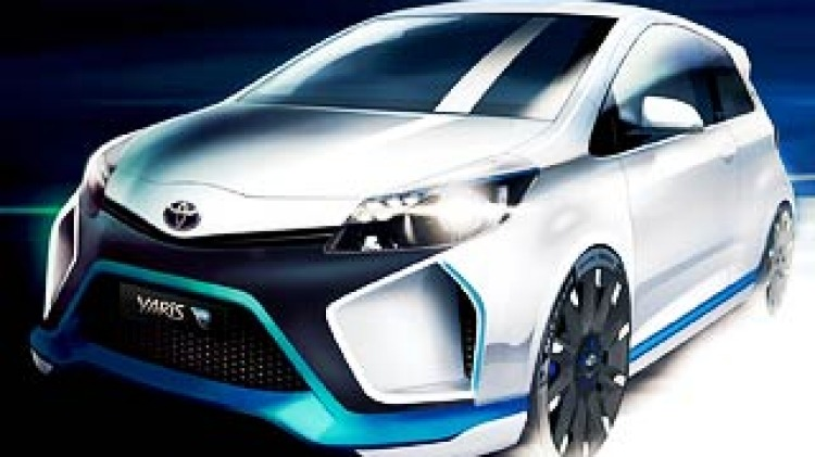 Toyota Yaris with 300kW revealed