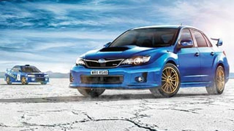 Subaru reveals final WRX limited edition