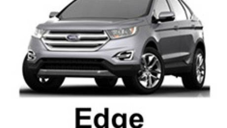 A leaked image of the 2015 Ford Edge, that will replace the Territory in Ford Australia's range.