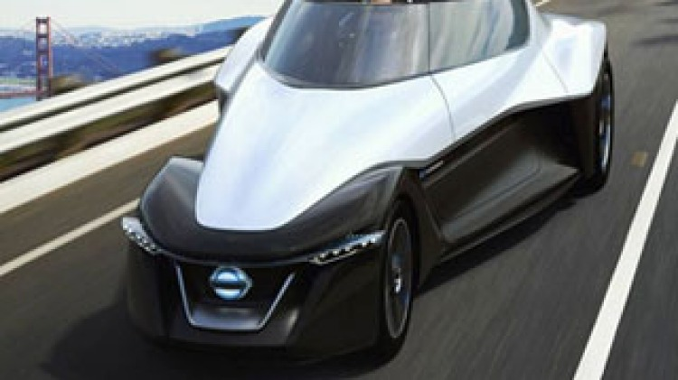 Nissan BladeGlider concept uncovered