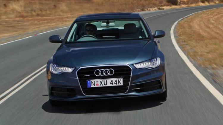 2014 Audi A6.