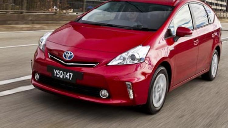 Toyota Prius V.