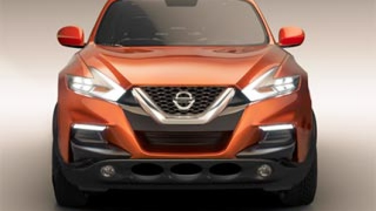 An artist's impression of what the new Nissan Juke may look like. Photot: Lucas Kennedy.