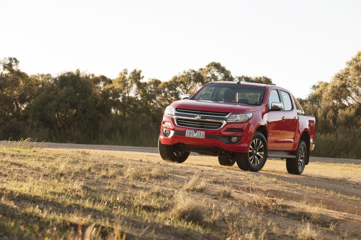 The new Holden Colorado offers more accessories than before.