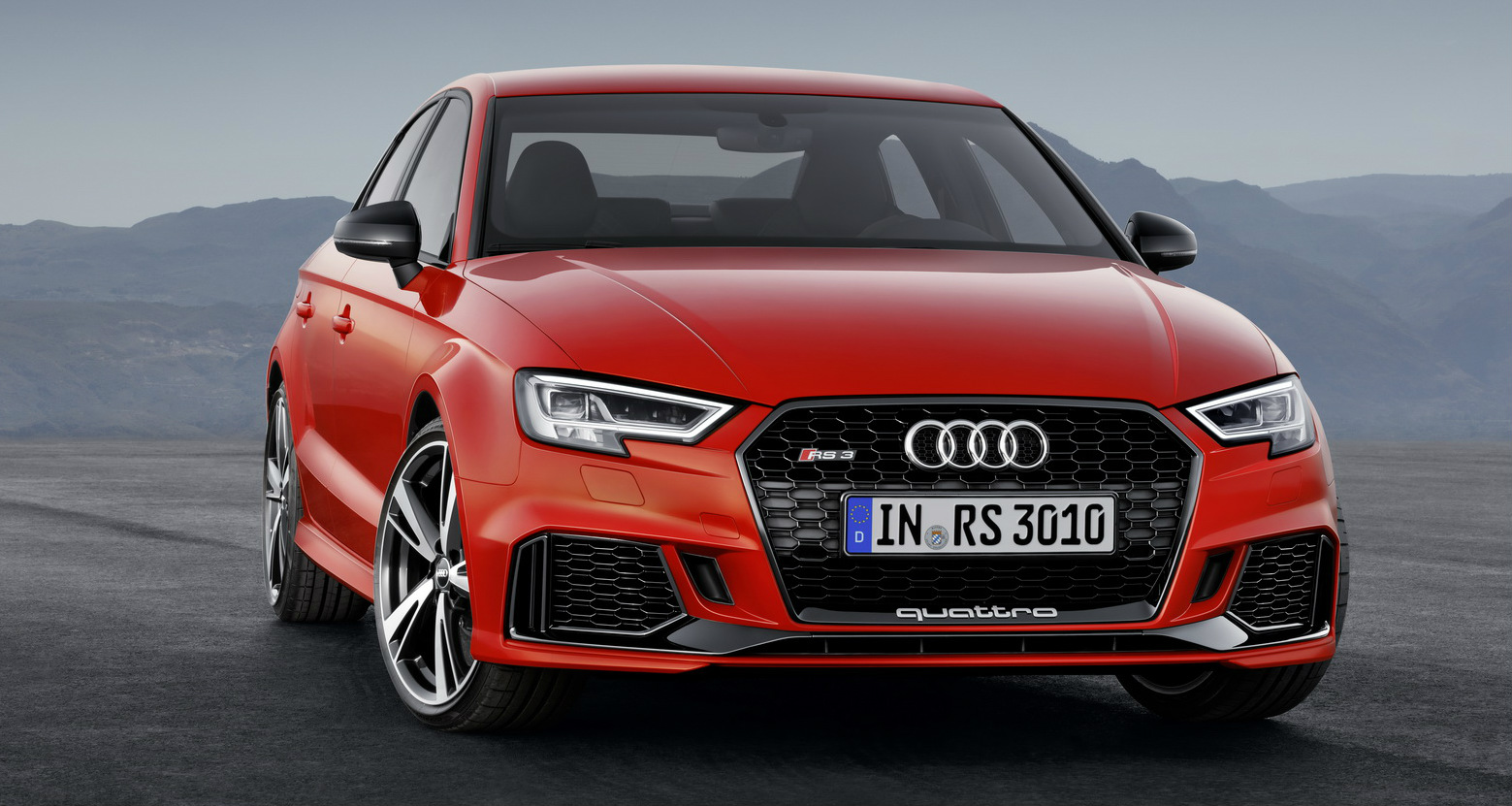 2017 Audi RS3 Sedan Unveiled - Coming To Australia Next Year