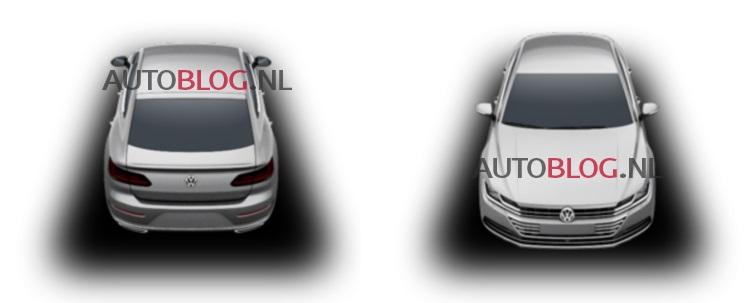 2017 Volkswagen CC - Patent Images