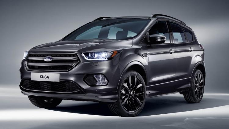 The 2017 Ford Kuga.
