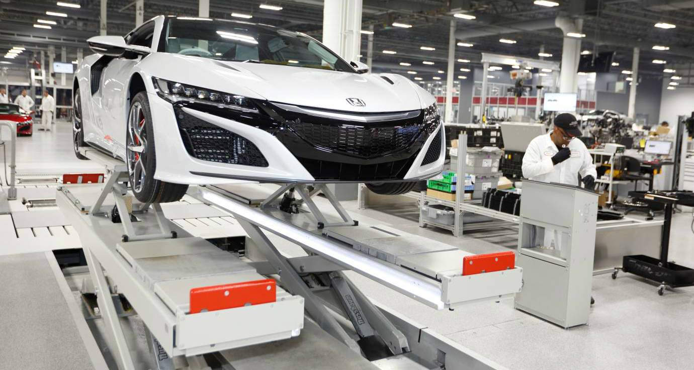 Honda NSX - Right-Hand-Drive Production Begins Ahead Of Australian Arrival