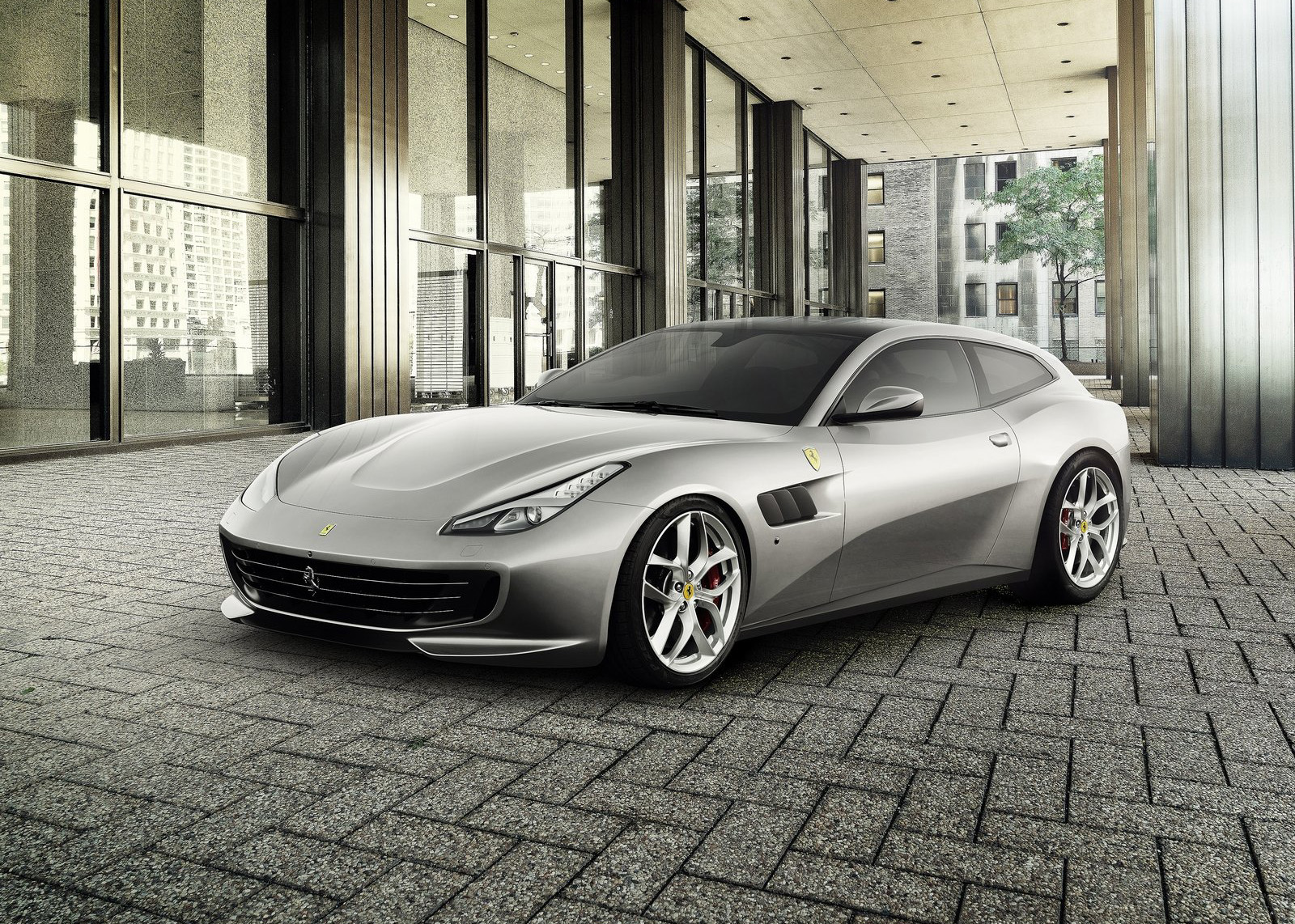 Ferrari's 'Panamera-Punishing' Four-Seat GTC4Lusso T V8 Set For Paris