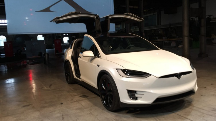 The new Tesla Model X SUV has arrived in Australia.