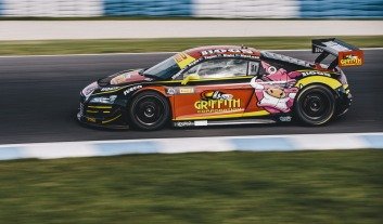 The R8 LMS produces seriously high levels of mid-corner grip.